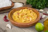 poulet au curry - 206210552