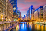 Chicago, Illinois, USA Cityscape - 206223512