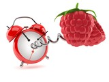 Raspberry with alarm clock