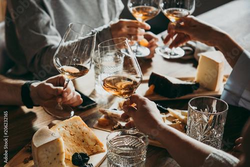 Leinwanddruck Bild Wine bar