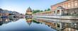 Leinwanddruck Bild - Berliner Dom und Museumsinsel Panorama
