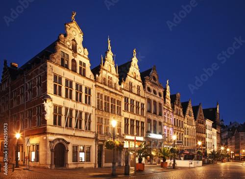 In de dag Antwerpen View of Antwerp. Belgium