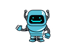 Robot 3 Sticker