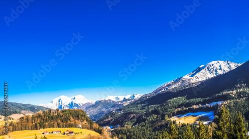 obraz PCV Spring landscape by Berchtesgaden in Germany