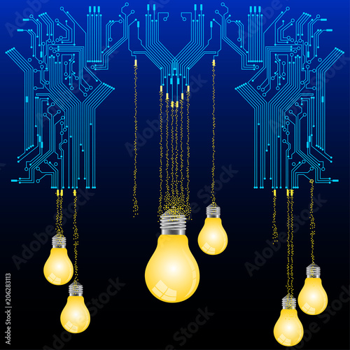 circuit board and lamp
