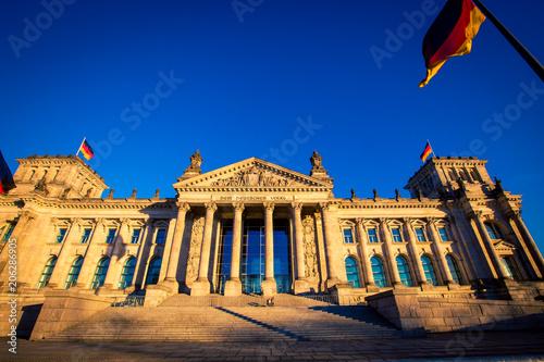 Fotobehang Berlijn exterior of the German parliament