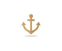 Anchor Logo Sticker