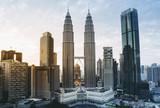 マレーシア ツインタワーの風景 - 206288914