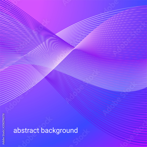 Plexiglas Abstractie color abstract background mysterious space