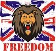 Lion head logo for t-shirt
