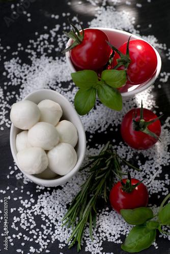 Frische italienische Antipasta
