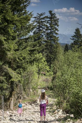 Pejzaż - wycieczka w góry