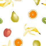 Seamless fruit pattern - 206321726