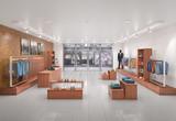 Store interior. 3d illustration - 206328516