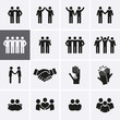 Friendship and Friend Icon set