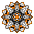 Mandalas for coloring  book. Decorative round ornaments. Unusual flower shape. Oriental vector, Anti-stress therapy patterns. Weave design elements. Yoga logos Vector. - 206357345
