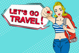 woman go to travel - 206362759