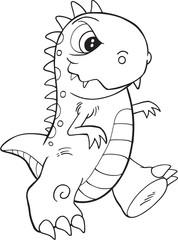 Cute Monster Vector Illustration Art © Erik DePrince