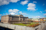Swedish Parliament House and Riksplan - 206410564
