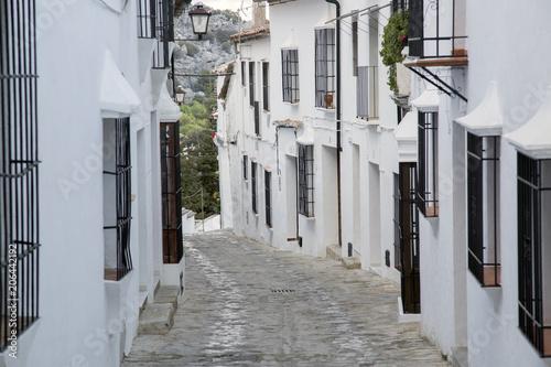 Street Scene; Grazalema; Andalusia © kevers