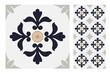 vintage tiles patterns antique seamless design in Vector illustration - 206443717