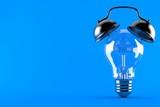Light bulb with alarm clock - 206460536