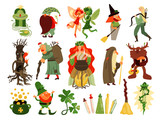Fairy Tale Forest Characters Set - 206472303