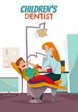 Pediatric Dentistry Composition Sticker