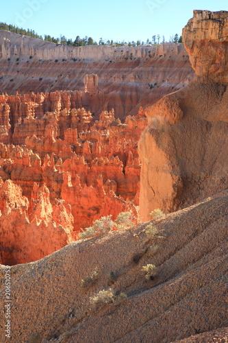 Fotobehang Baksteen Bryce Canyon 7
