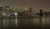 New York, ponte di Brooklyn di sera - 206511958