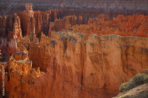 Fotobehang Diepbruine Bryce Canyon 21