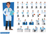 Set of Doctor character design. no2 - 206543189