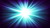 Blue glowing beams abstract background - 206551573