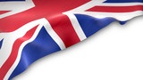 national flag of the United Kingdom waving - 206556547
