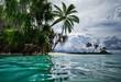 Beautiful scenery of Maldives