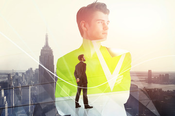 Teamwork, career and employment concept