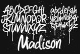 Marker Graffiti Font