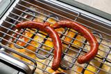 Merguez sur barbecue électrique