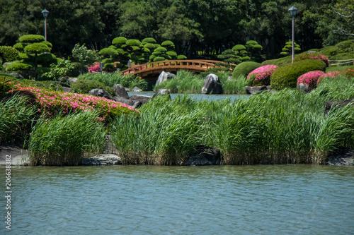 Aluminium Azalea 日本庭園1