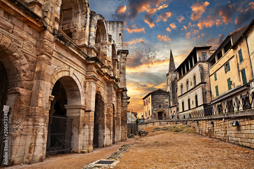 Arles, France: the ancient Roman Arena