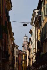 Verona - panorama cittadino con la torre dei Lamberti © Stefano Gasparotto