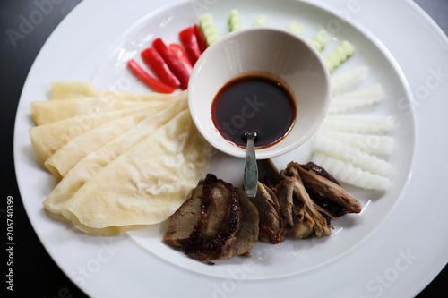 Fotobehang Peking Peking Duck , Chinese food