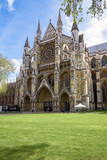 Northern entrance to the Westminster Abbey - 206747994