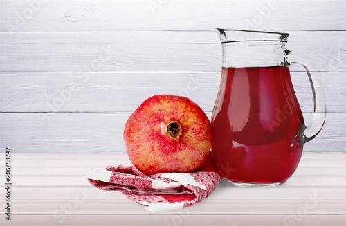 Leinwanddruck Bild Pomegranate.