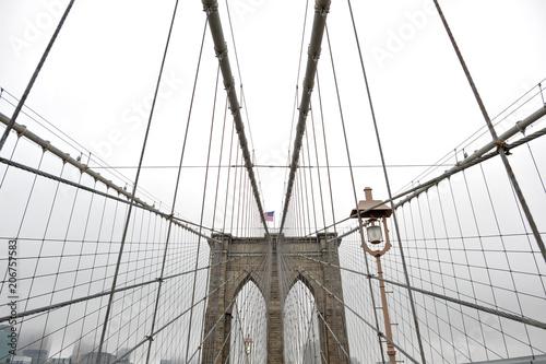 Aluminium Brooklyn Bridge New York, USA