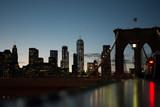 Lower Manhattan Skyline from Brooklyn Bridge - 206767331