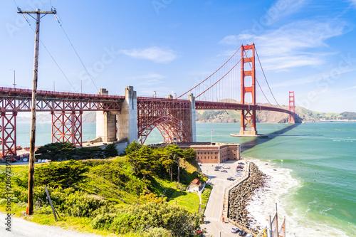Fotobehang Bruggen Golden Gate bridge