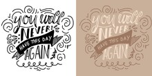 Hand Lettering For Your Design  Sticker
