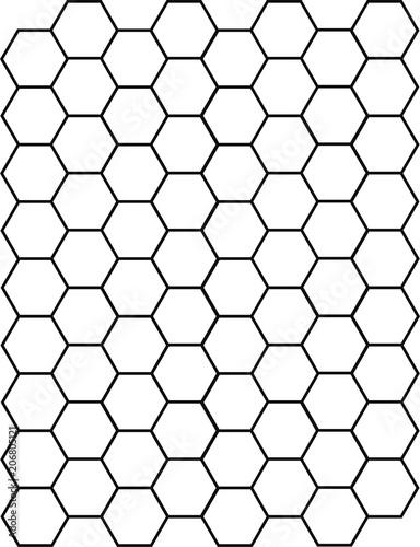Pattern de prueba Hexagon - 206805121