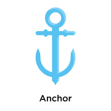 Anchor Icon  Sign And Symbol    Sticker